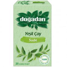 Зелёный чай 20 пакетиков DOGADAN